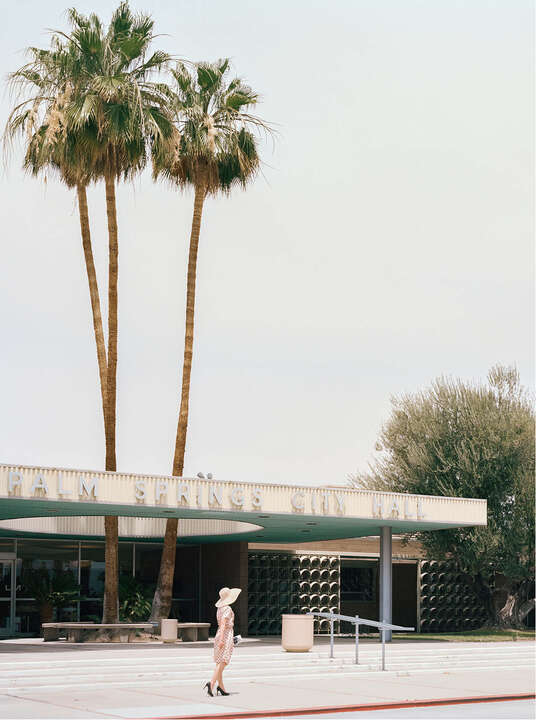 PALM SPRINGS CITY HALL (Albert Frey) von Stephanie Kloss