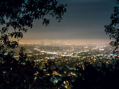 Photographic landscape artworks: MULHOLLAND DRIVE by Stephanie Kloss