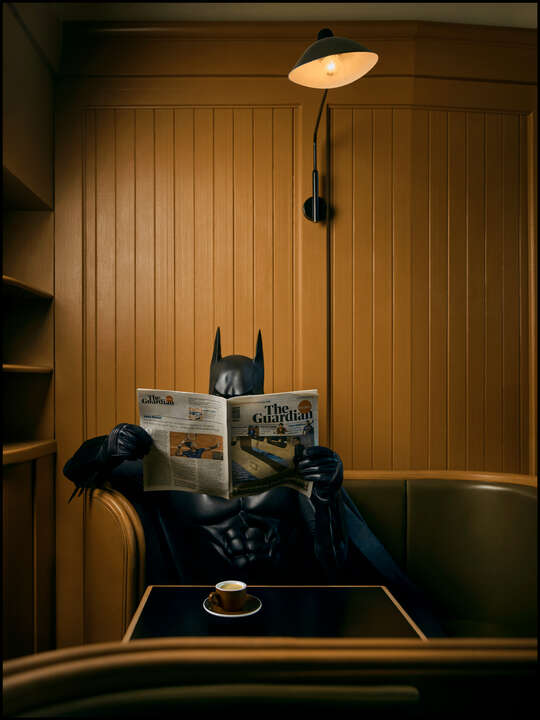 Coffee and News by Sebastian Magnani