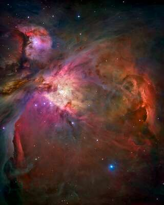 Orion nebula (NASA/JPL - Caltech) von Hubble Telescope