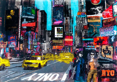 Times Square by Sandra Rauch