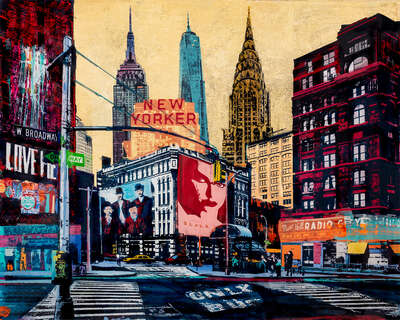 New York Pictures: New Yorker by Sandra Rauch