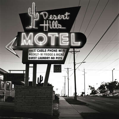 Desert Hills Motel by Shannon Richardson