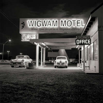 Wigwam Motel by Shannon Richardson