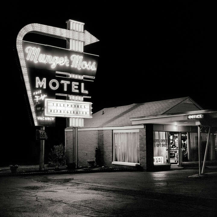 Munger Moss Motel by Shannon Richardson