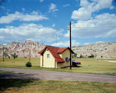 Badlands National Monument, South Dakota, July 14, 1973 von Stephen Shore