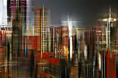 Hong Kong Projections I by Sabine Wild