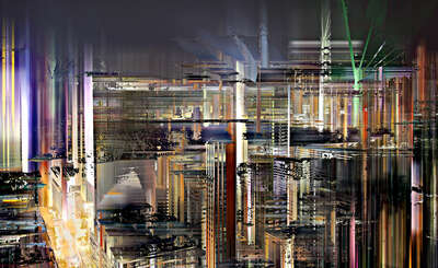 Hong Kong Projections II by Sabine Wild