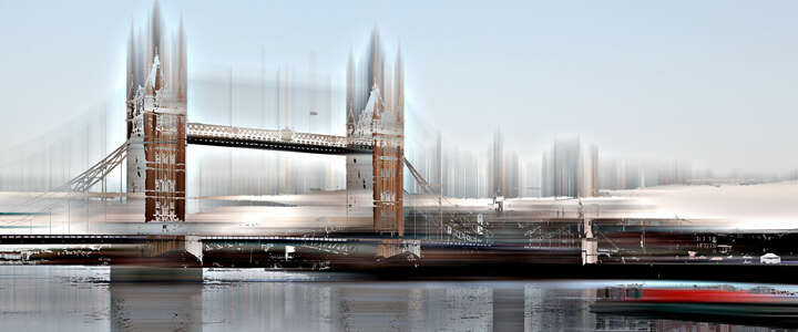 London Projections I by Sabine Wild