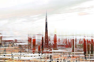 Dubai Projections II by Sabine Wild