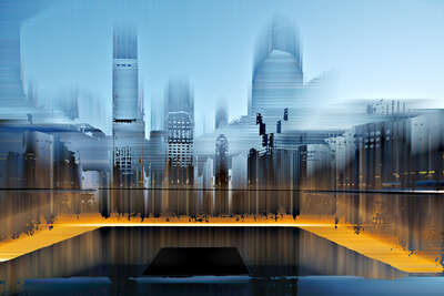 NY Projection LII by Sabine Wild