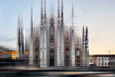 Milan Projection I by Sabine Wild
