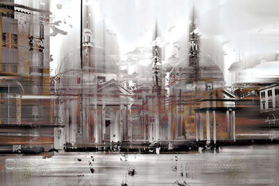 Rome Projection I by Sabine Wild