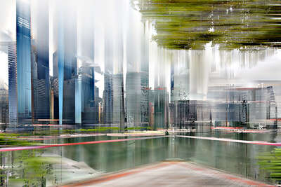 Singapore Projection V by Sabine Wild