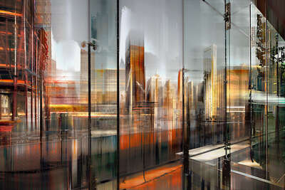 abstract photography:  NY Projection LXXI by Sabine Wild