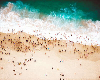 aerial beach photography by Tommy Clarke : Entry by Tommy Clarke