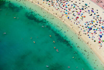 aerial beach photography by Tommy Clarke : Amadores South by Tommy Clarke