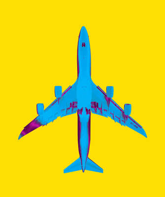 Curated abstract yellow artworks: plane_06_15_24c by Thomas Eigel