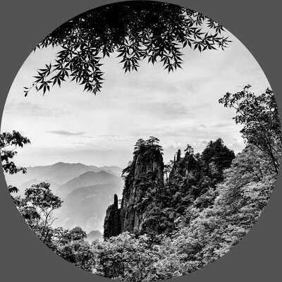 The Window to the Huangshan von Tatiana Gorilovsky