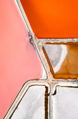 water art photography:  SALT WORKS II by Tom Hegen
