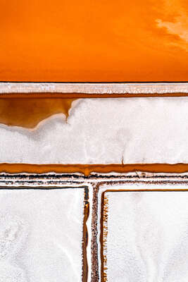aerial landscape photography by Tom Hegen : Salt Works IV by Tom Hegen