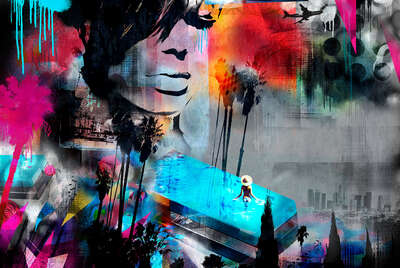 colorful art: LA Dreams by Tim Marrs