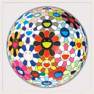 Flower Ball (Lots of Colors) by Takashi Murakami