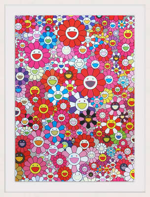 An Homage to Mono Pink 1960 by Takashi Murakami