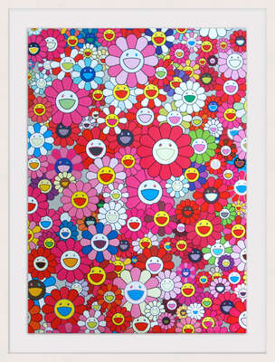 An Homage to Mono Pink 1960 A by Takashi Murakami