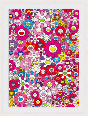 An Homage to Monopink 1960 D by Takashi Murakami