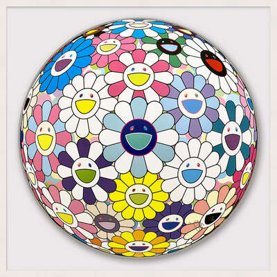 Cosmic Power de Takashi Murakami