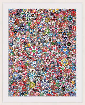 conceptual photography:  INFINITY by Takashi Murakami