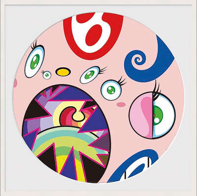 conceptual photography:  WE ARE THE JOCULAR CLAN (3) by Takashi Murakami