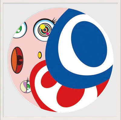 WE ARE THE JOCULAR CLAN (4) von Takashi Murakami