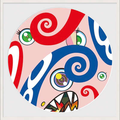 conceptual photography:  WE ARE THE JOCULAR CLAN (9) by Takashi Murakami