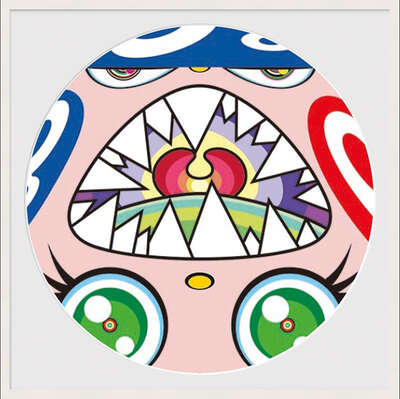 conceptual photography:  WE ARE THE JOCULAR CLAN (10) by Takashi Murakami
