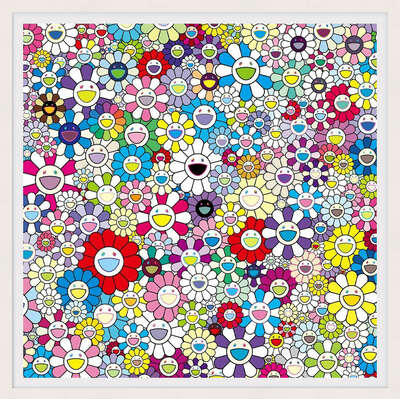 conceptual photography:  The Nether World by Takashi Murakami