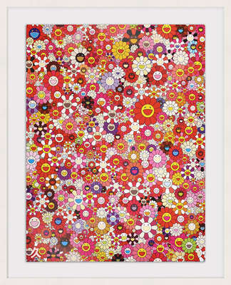 An Homage to Mono Pink 1960 From a Set of 3    by Takashi Murakami