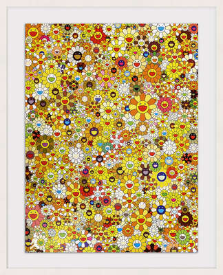 An Homage to Mono Gold 1960 From a Set of 3       by Takashi Murakami