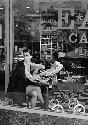 Fashion Wall Art:  Coffee Shop by Patrick Demarchelier | Hearst | Trunk Archive