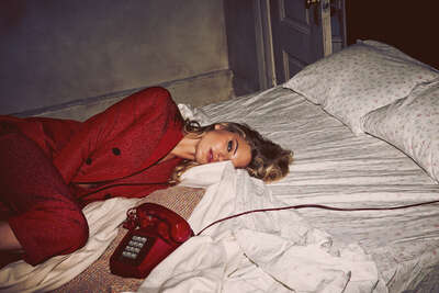 Fashion Wall Art:  Call You Back by Guy Aroch | Trunk Archive