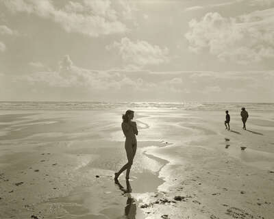 nude photography:  Gaëlle; Montalivet, France, 1996 by Jock Sturges | Trunk Archive