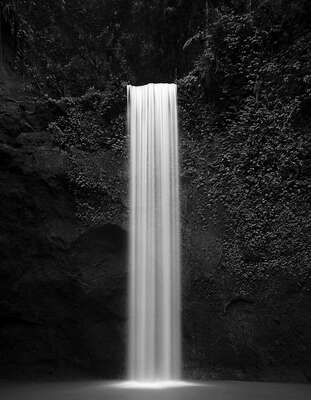 water art photography:  Jungle Fall by Tirta Winata
