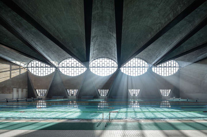 Swimming Pool of Tianjin University I by Terrence Zhang