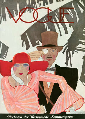 Cover, Pierre Mourgue I by German Vogue Collection