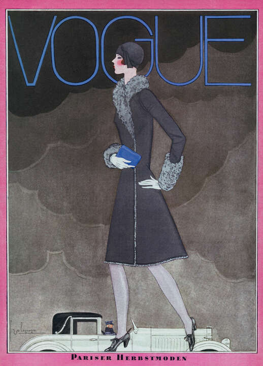 Cover, Georges Lepape I von German Vogue Collection