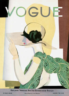 Cover, Pierre Mourgue II by German Vogue Collection