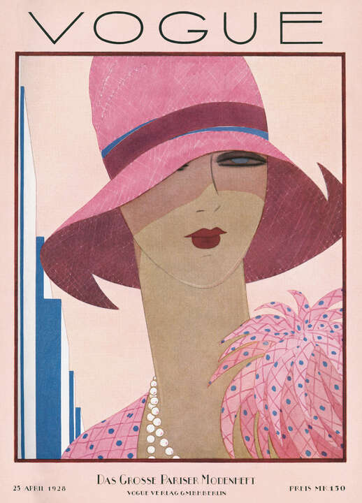 Cover, Harriet Meserole von German Vogue Collection