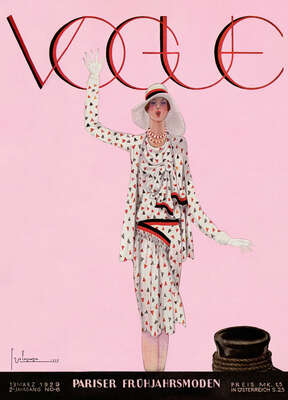 Cover, Georges Lepape IV by German Vogue Collection