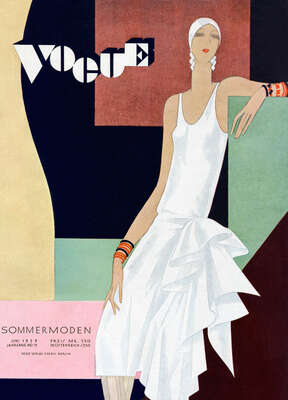 Cover, William Bolin III von German Vogue Collection